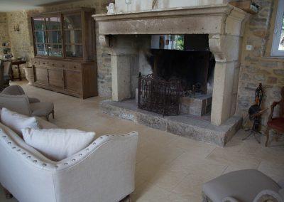 La coin cheminée pour se reposer au chaud